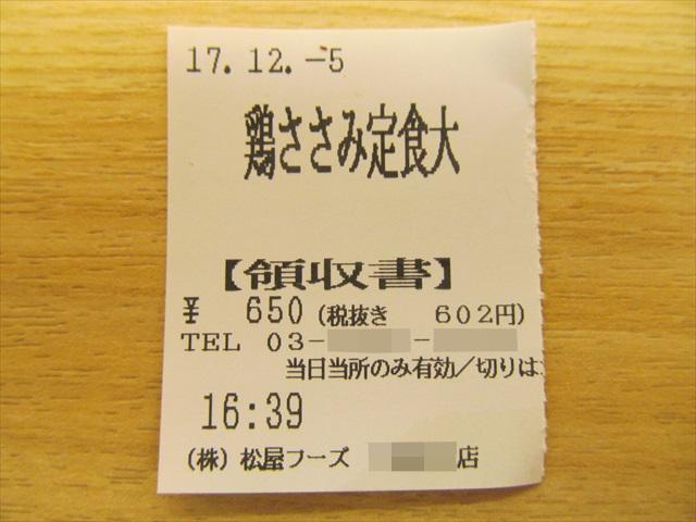 matsuya_tori_sasami_steak_teishoku_20171205_014