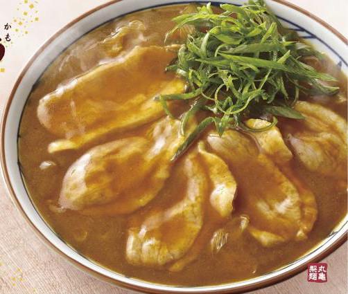 丸亀製麺鴨カレー南蛮切り抜き20180123