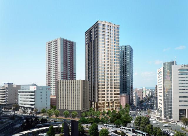 浜松駅北口一条タワマン外観イメージ20180108