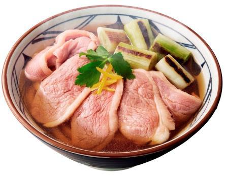 丸亀製麺鴨ねぎうどん2018商品画像20180123
