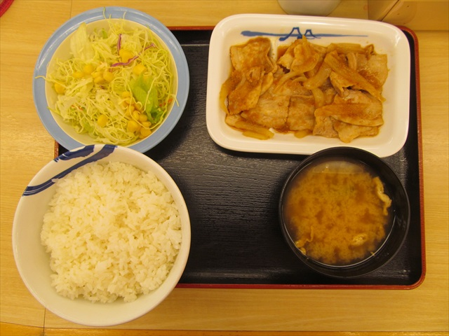 matsuya_cheese_takkarubi_set_meal_20180124_011