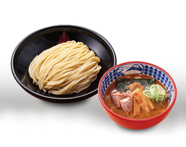 イオンモール座間店_三田製麺所_つけ麺_麺とスープ写真20180314