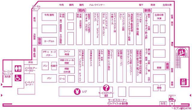 ゆめマート福津フロアマップ640_20180220