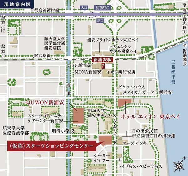 スターツショッピングセンター仮地図20180322