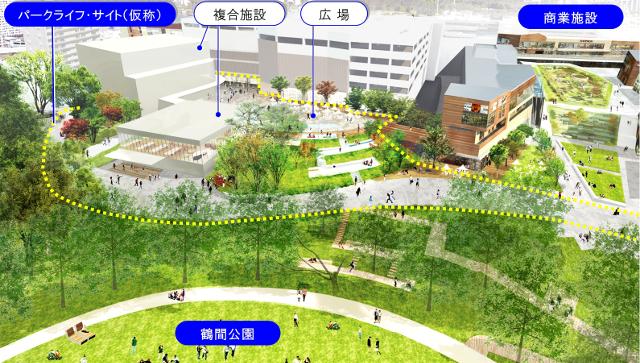 南町田グランベリーパーク_パークライフサイト仮称イメージ20180322
