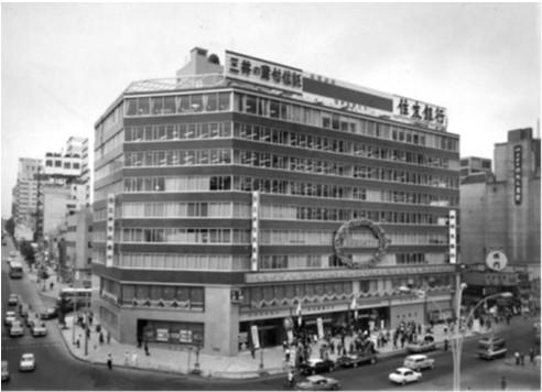 1965年開業当初の渋谷東急ビル写真20180307