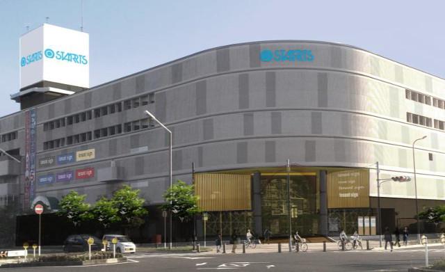 スターツショッピングセンター仮外観イメージ20180322