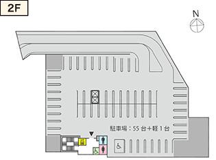 ビエラ千里丘2階フロアマップ20180331