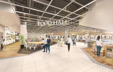 スターツショッピングセンター仮フードホールイメージ20180322