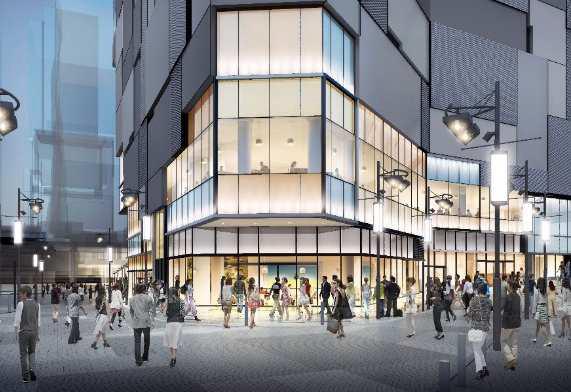 東急プラザ渋谷外観北西側イメージ20180307