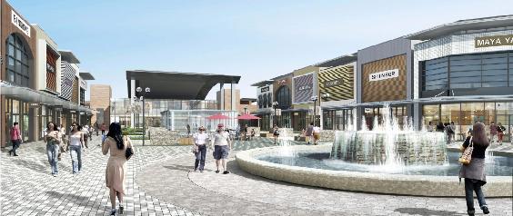 ジアウトレット広島噴水広場イメージ20180323