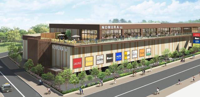 稲城小田良ショッピングセンター仮称完成イメージ20180319