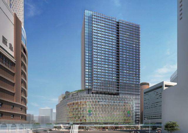 阪急梅田新本店2021年完成予想イメージ20180410