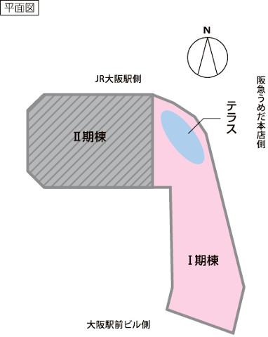 阪急梅田本店建て替え後の平面図20180410