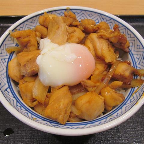 吉野家鶏すき丼2018年ver大盛賞味サムネイル