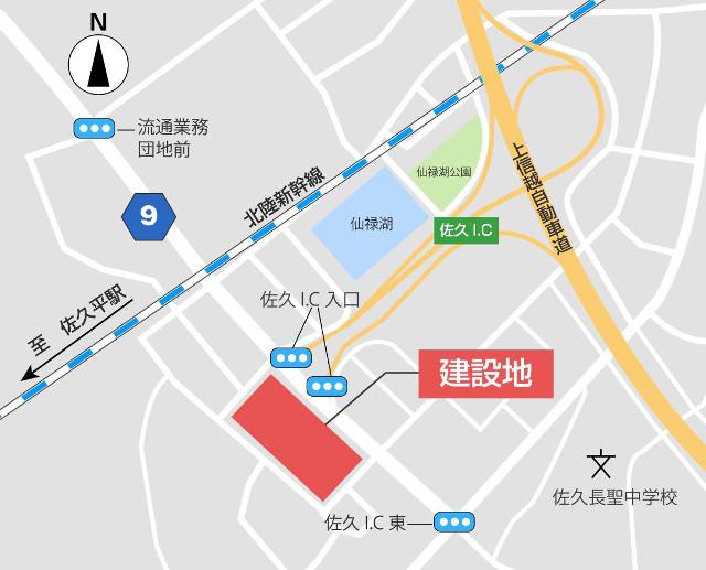 フレスポ佐久インター地図20180417