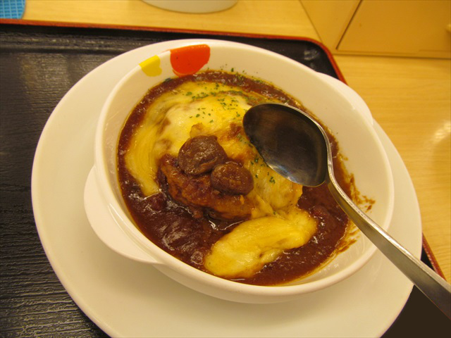 matsuya_brown_sauce_cheese_hamburg_set_meal_20180424_056