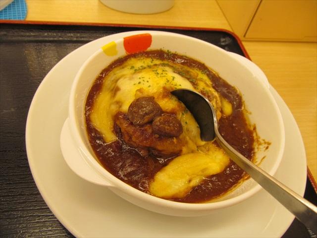 matsuya_brown_sauce_cheese_hamburg_set_meal_20180424_057