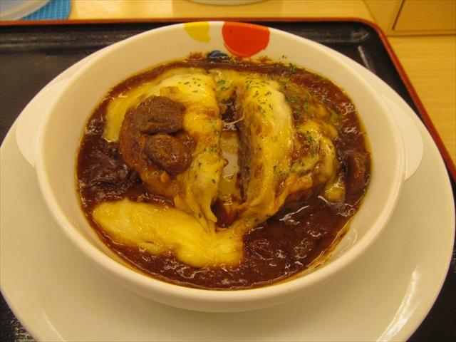 matsuya_brown_sauce_cheese_hamburg_set_meal_20180424_058