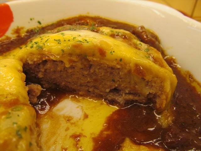 matsuya_brown_sauce_cheese_hamburg_set_meal_20180424_062