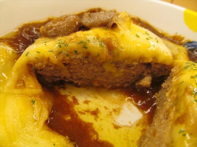 matsuya_brown_sauce_cheese_hamburg_set_meal_20180424_064
