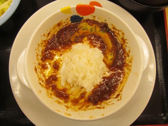 matsuya_brown_sauce_cheese_hamburg_set_meal_20180424_083