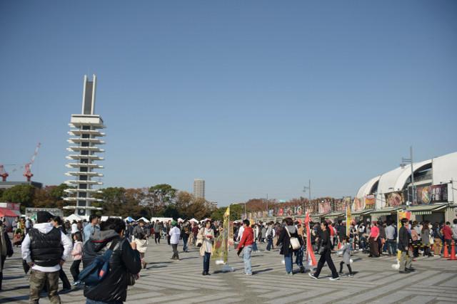 東京ラーメンショー過去開催時の駒沢オリンピック公園中央広場20180523