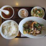 中国料理桂林回鍋肉片定食賞味20180511サムネイル