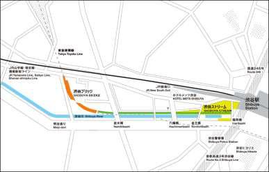 渋谷ストリーム地図20180524