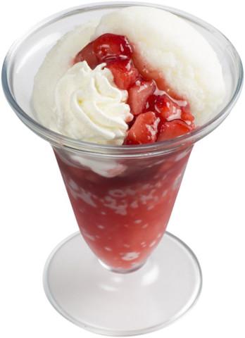 スシロー_練乳かき氷いちご20180521