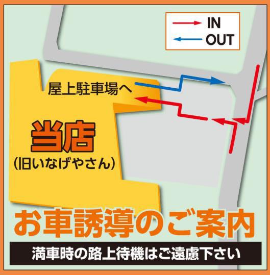 ビバホーム田無芝久保店車導線図20180529