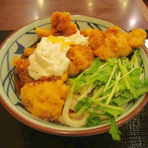 丸亀製麺タル鶏天ぶっかけ2018大賞味サムネイル2輝度アップ