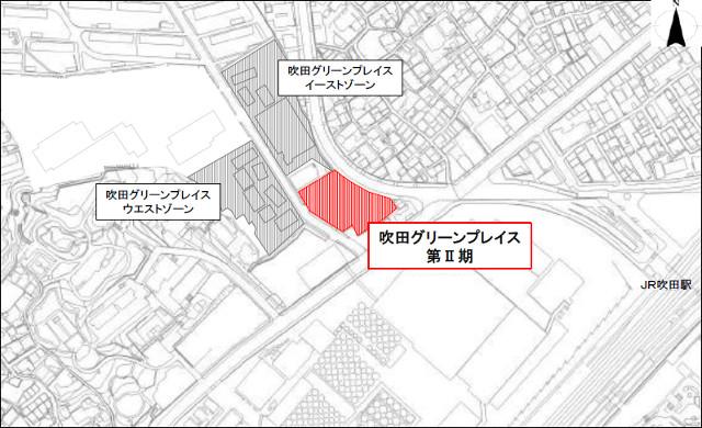 吹田グリーンプレイス2期地図20180605