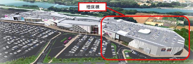 イオンモール熊本20180720増床後の外観イメージ640_20180606