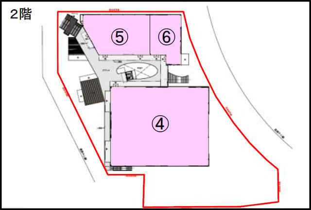 吹田グリーンプレイス2期2階フロアマップ20180605