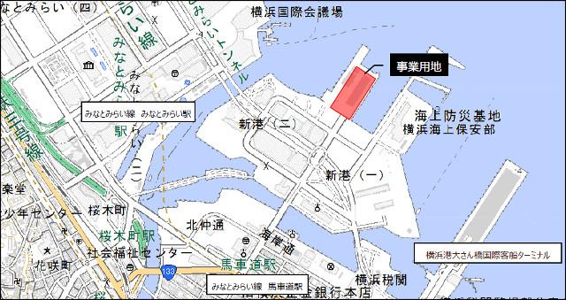 ヨコハマハンマーヘッドプロジェクト地図20180604