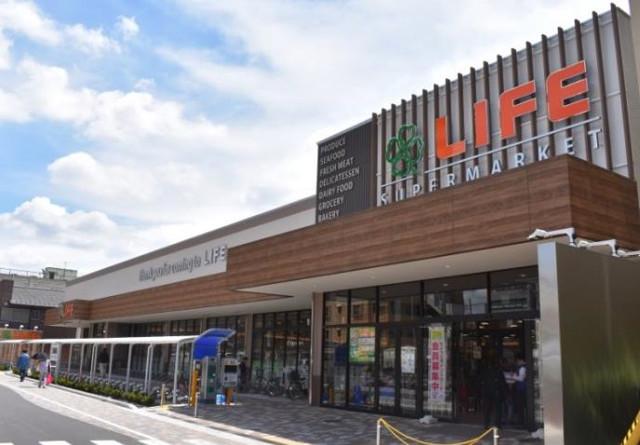 ライフ蕨駅前店外観イメージ20180621