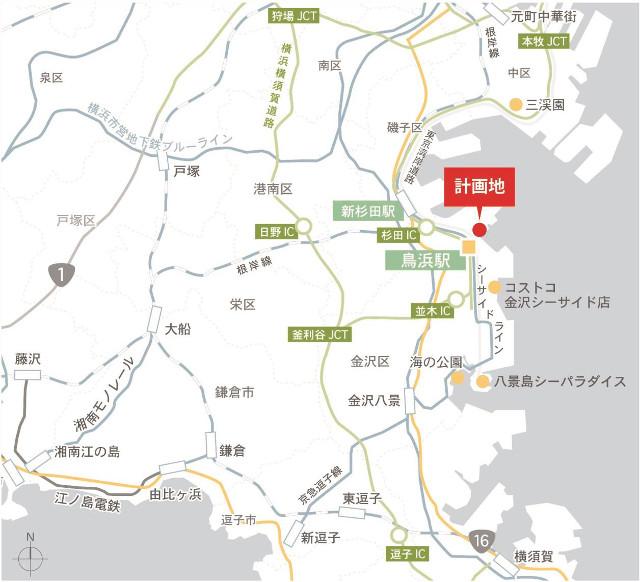 三井アウトレットパーク横浜ベイサイド地図20180621