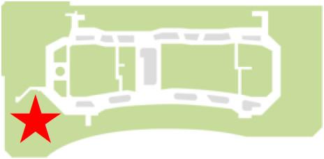 ららぽーと名古屋みなとアクルス3階フードコートの位置20180612