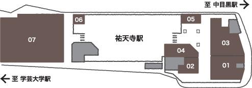 エトモ祐天寺フロアマップ20180703