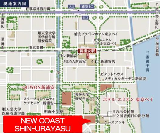 ニューコースト新浦安_地図_20180719