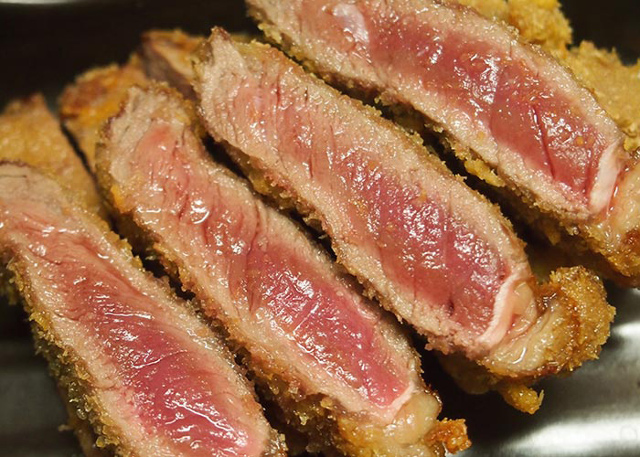 大阪泉州夏祭り肉フェス_名物牛かつ_一歩一歩_四谷本店_20180828
