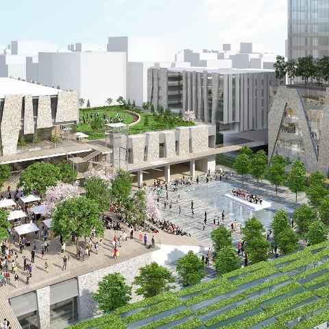 宇都宮駅東口複合開発サムネイル