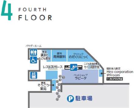 ゆめタウン下松_4階フロアマップ20181005