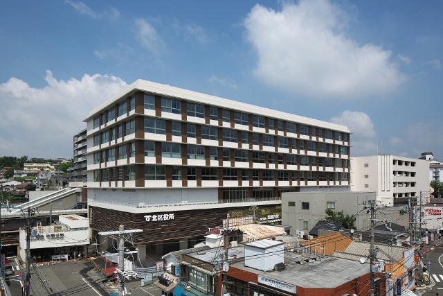 鈴蘭台駅前再開発ビル外観イメージ20180828