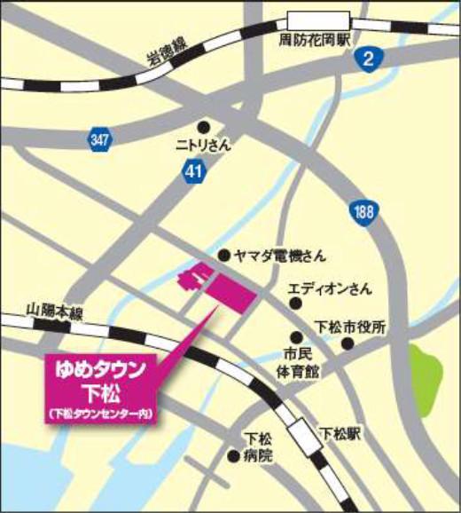 ゆめタウン下松地図20181005
