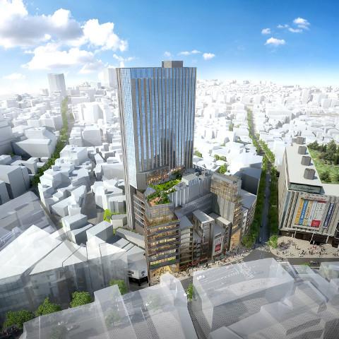 ドンキホーテ渋谷区道玄坂二丁目開発計画仮称サムネイル