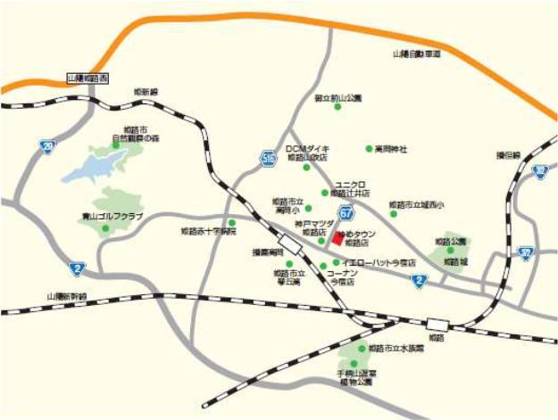 ゆめタウン姫路_地図_20181119