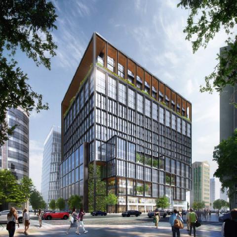 福ビル街区第1期建替計画決定サムネイル