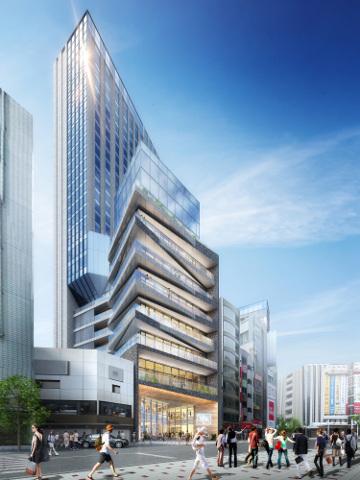 ドンキホーテ渋谷区道玄坂二丁目開発計画仮称_イメージ5_20180813